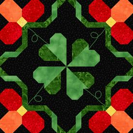 Shamrock 1 Barn Quilts Quilt Blocks Quilt Patterns