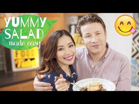 Jamie Oliver & Michelle Phan's Valentine's Day Meal | Ricotta Fritters - YouTube