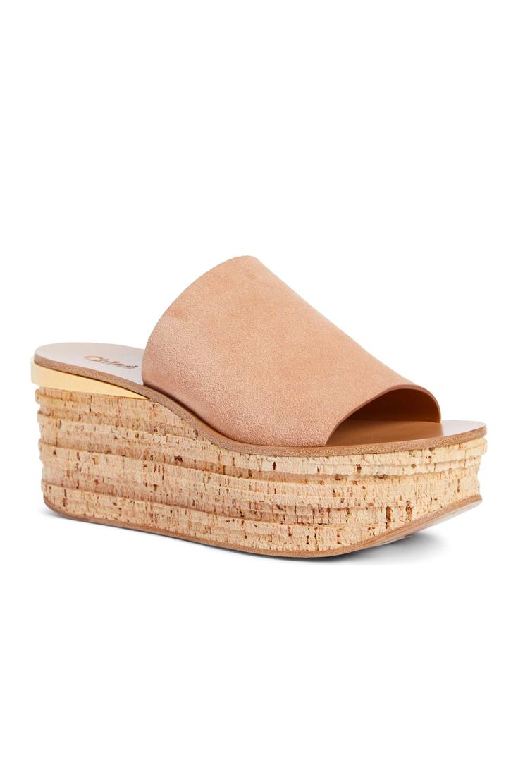 Chloé Women's Camille Cork Platform Sandal Vhp5HYXE