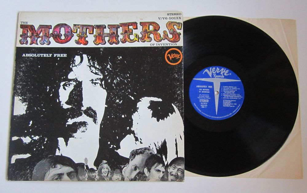 Frank Zappa The Mothers Of Invention Absolutely Free Us