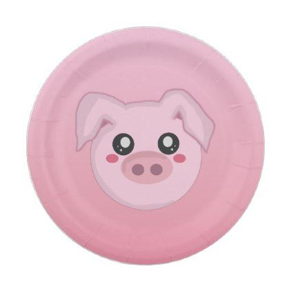 Pig Face Paper Plate - animal gift ideas animals and pets diy customize  sc 1 st  Pinterest & Pig Face Paper Plate - animal gift ideas animals and pets diy ...