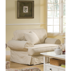 Addison Chair W/ Slipcover, Rowe Furniture, Addison Collection