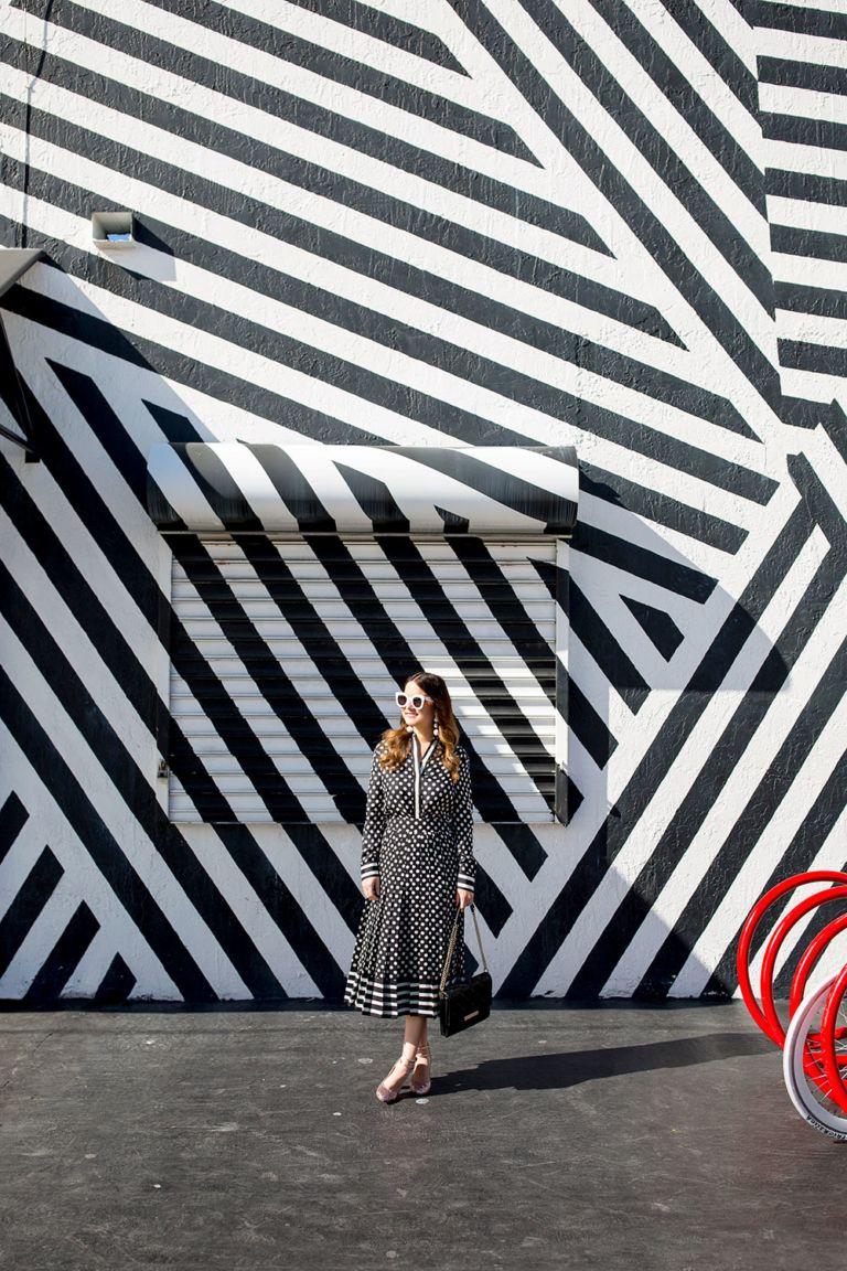 Miami street art murals and colorful walls in miami