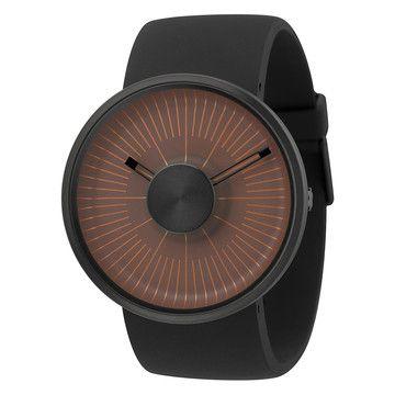 Armbanduhr Hacker Schwarz-Orange, 129€, jetzt auf Fab.