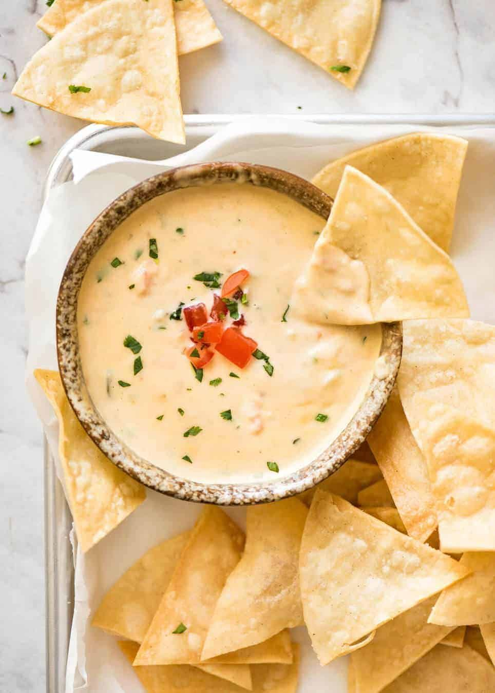 Queso Dip Mexican Cheese Dip