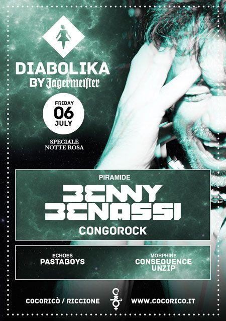 Notte Rosa: Benny Benassi - 06.07.2012