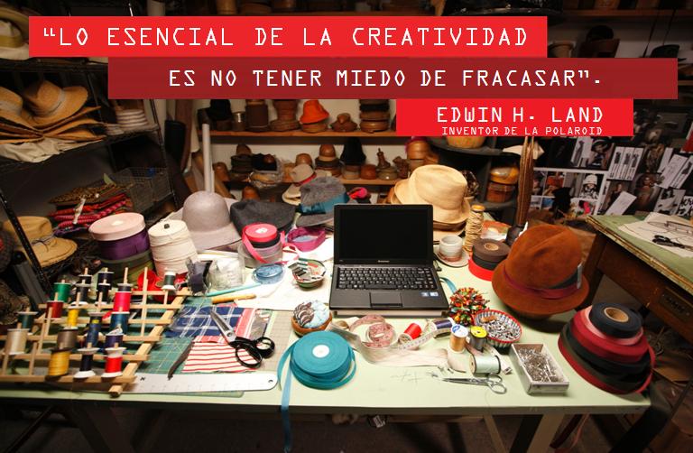 """""""Lo esencial de la creatividad es no tener miedo de fracasar."""" - Edwin H. Land.  www.lenovo.com/ar"""