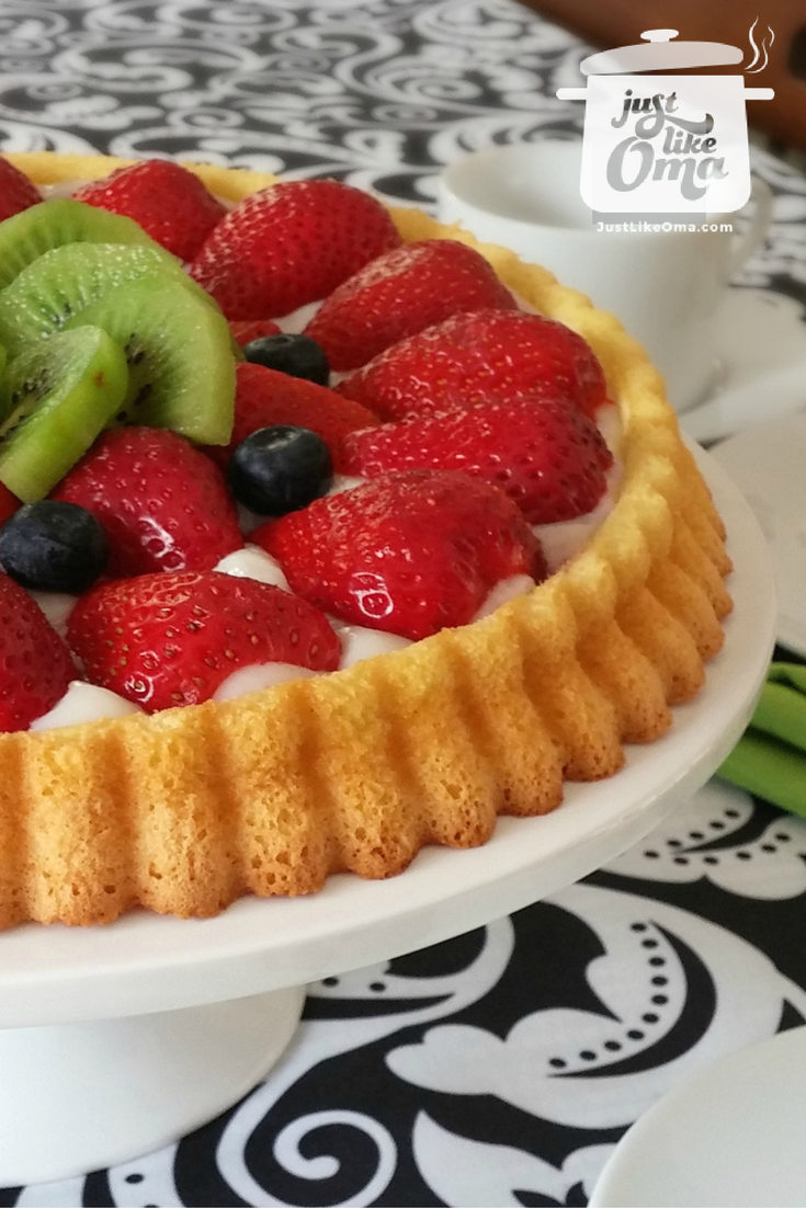 German Desserts Fruit Flan Obsttorte So Easy So Quick And So
