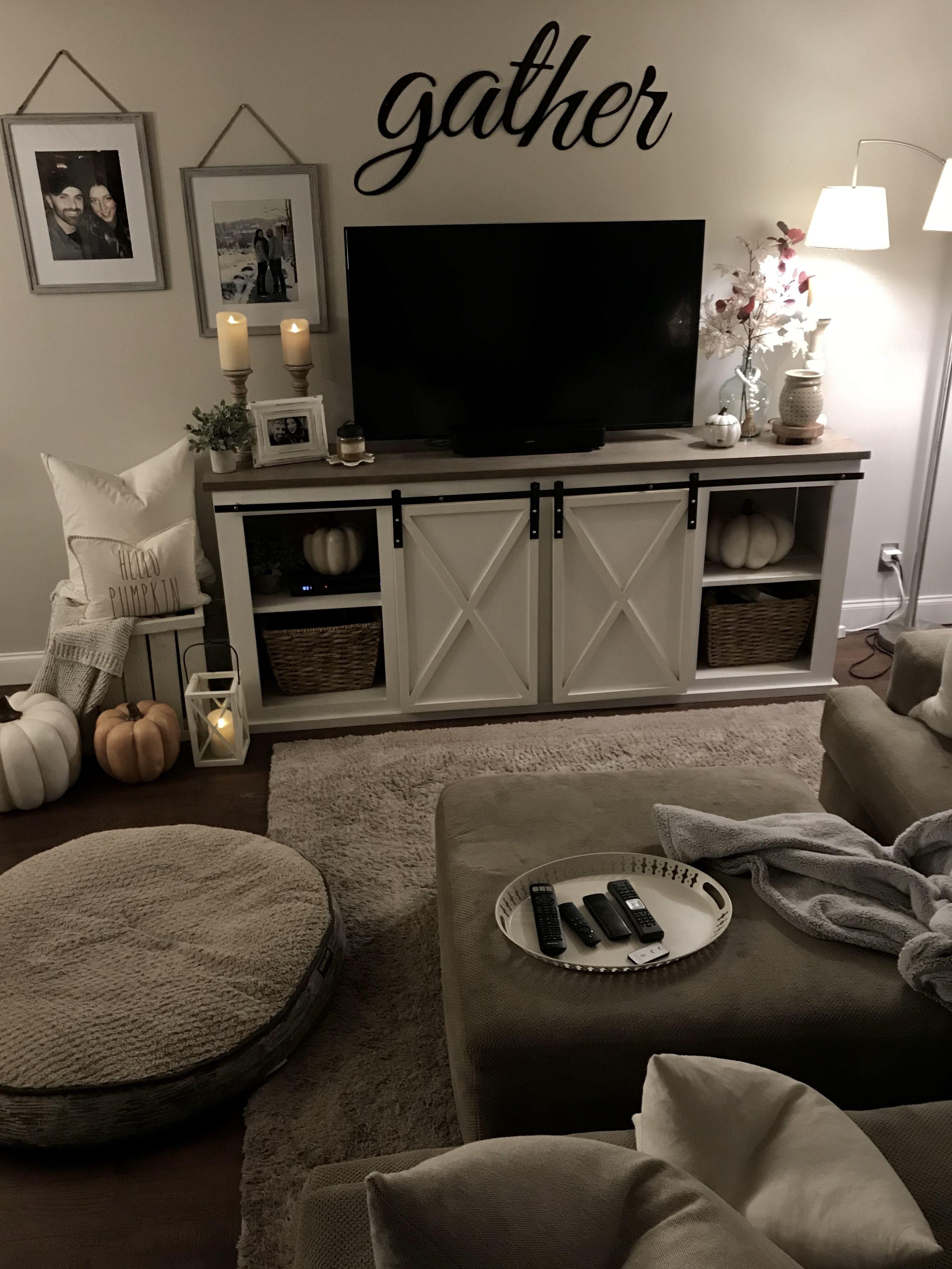 Cozy Living Room Living Room Tv Stand Living Room Decor Apartment Farm House Living Room