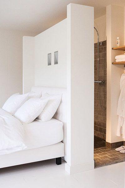 Van badkamer naar slaapkamer | Pinterest