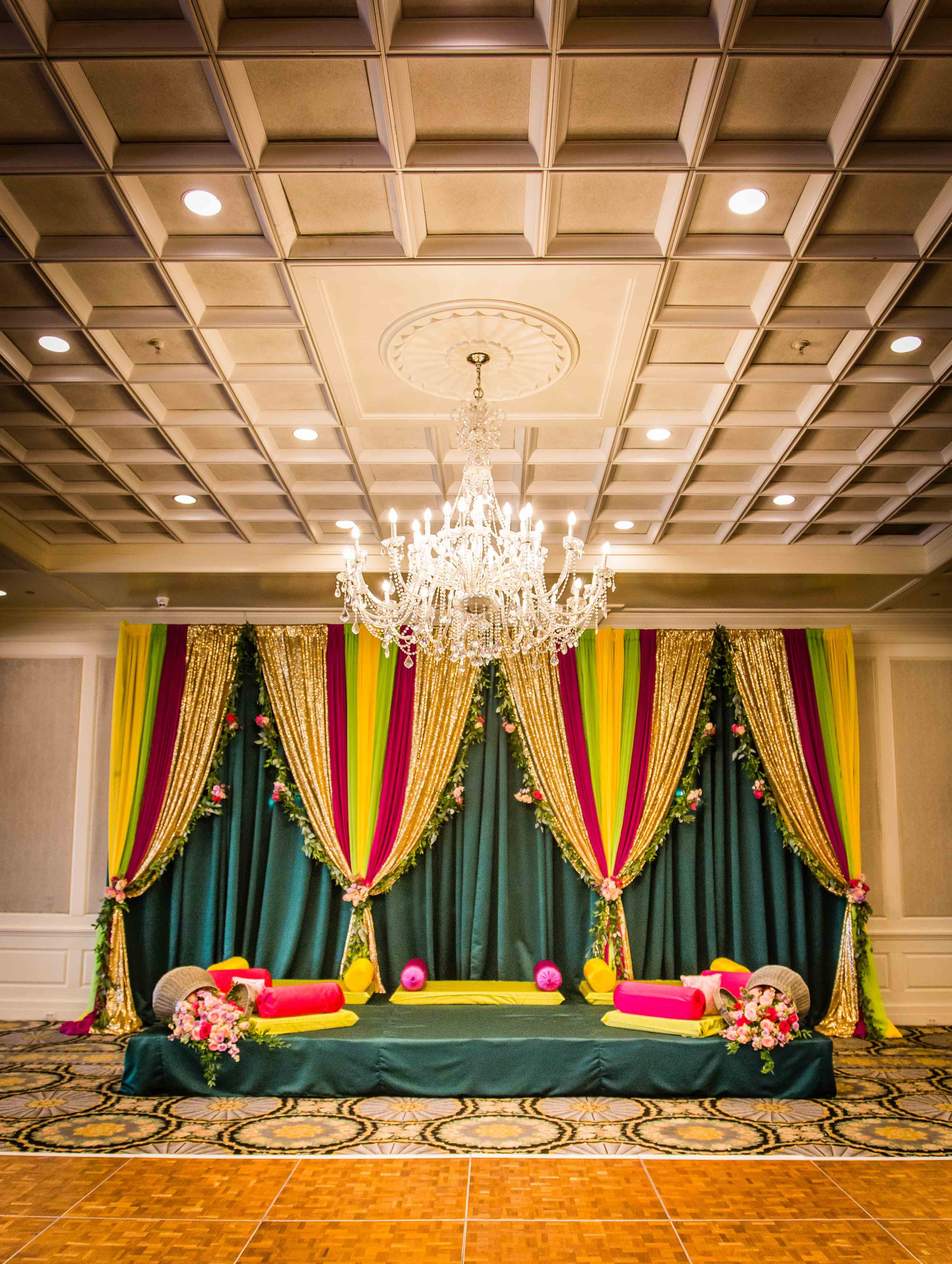 Nigerian wedding stage decoration  Pin by Top That Event on Custom Stage Design  Pinterest  Stage design