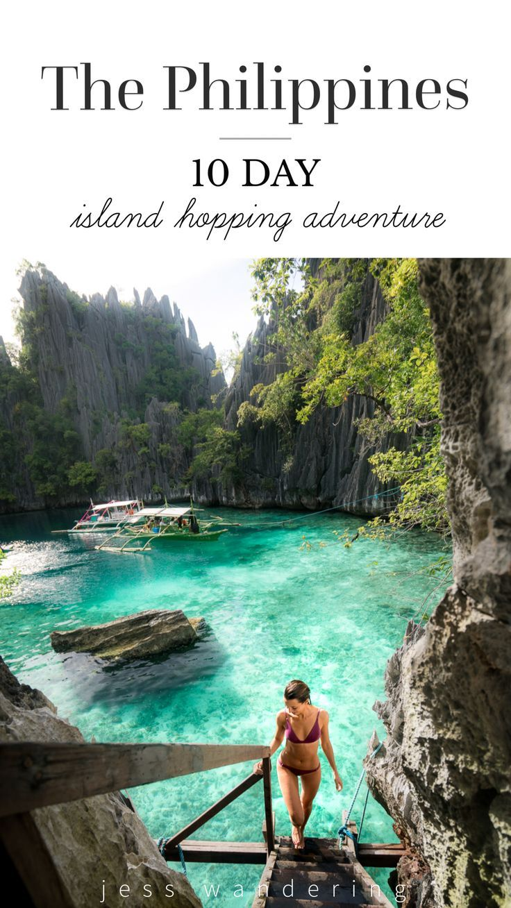 The Philippines: 10 Day Island Hopping Adventure #travelbugs