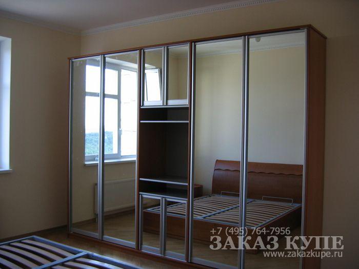 Шкаф купе в спальню: дизайн, идеи, размеры, фото 70
