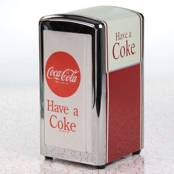 Coca Cola Napkin Dispenser