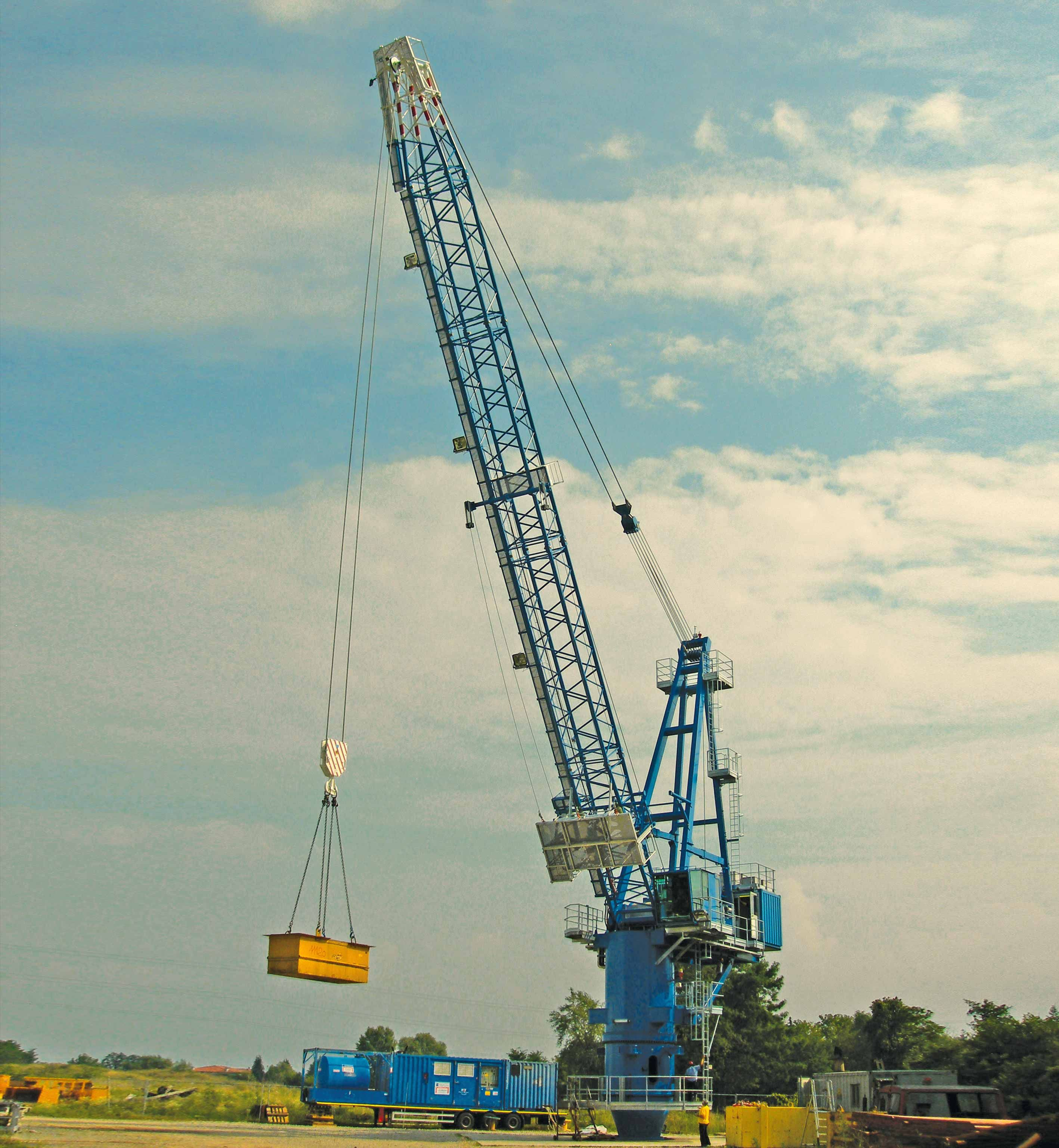 Ts Series Offshore Cranes