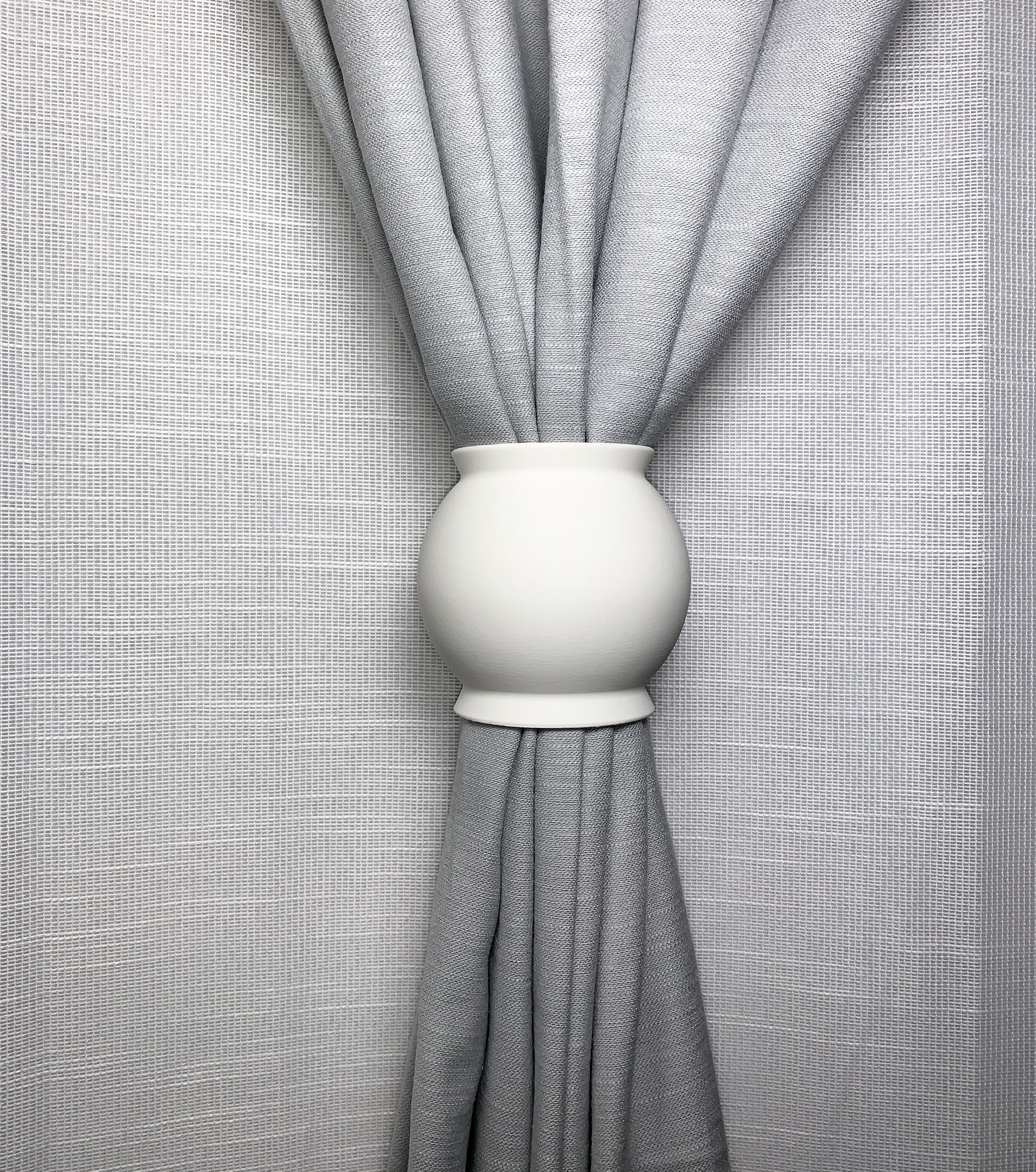 Simple Abby Curtain Tiebacks Holdbacks Modern Homeware Utilizing