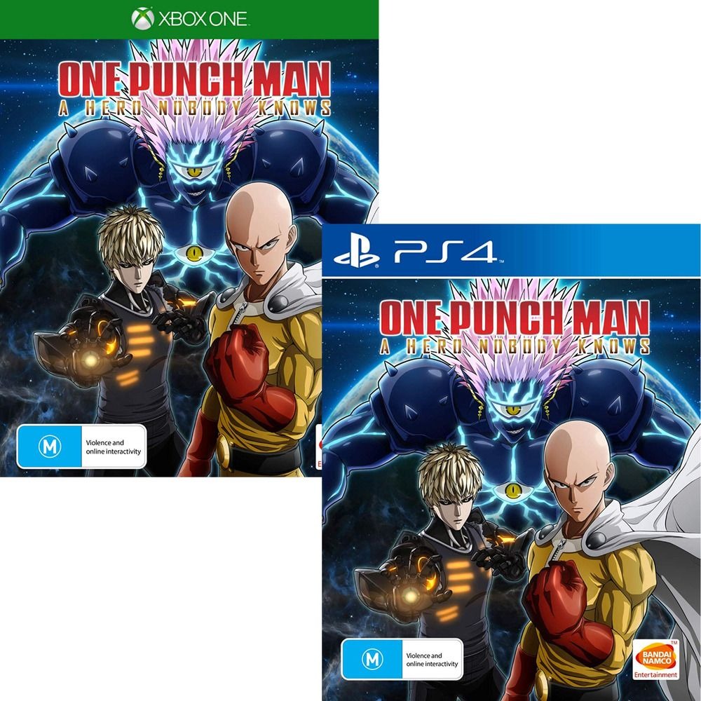 One Punch Man A Hero Nobody Knows Playstation 4 Ps4 Xbox One Anime