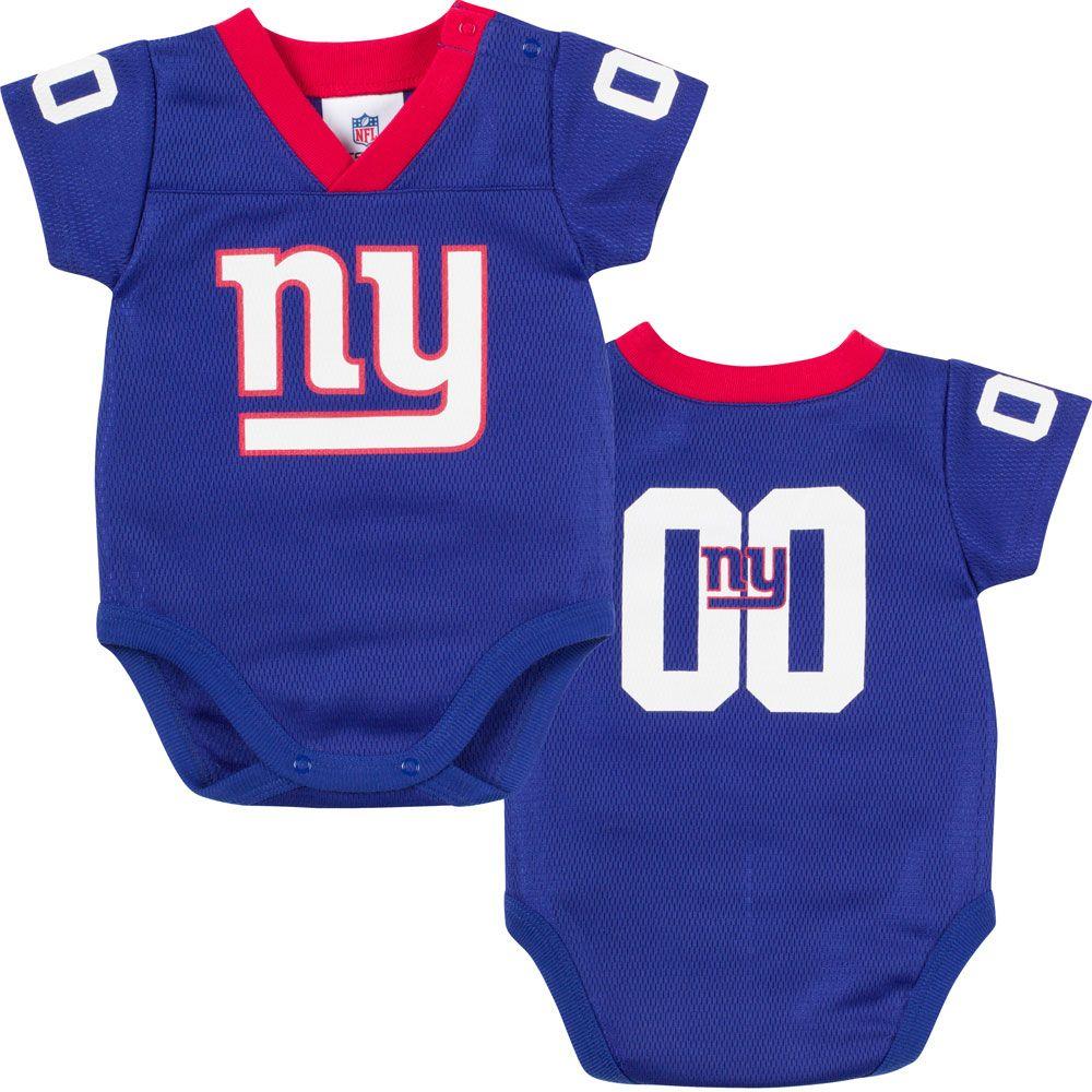 1413be019 Baby Giants Fan Jersey Onesie | New York Giants Baby | Onesies, Baby ...