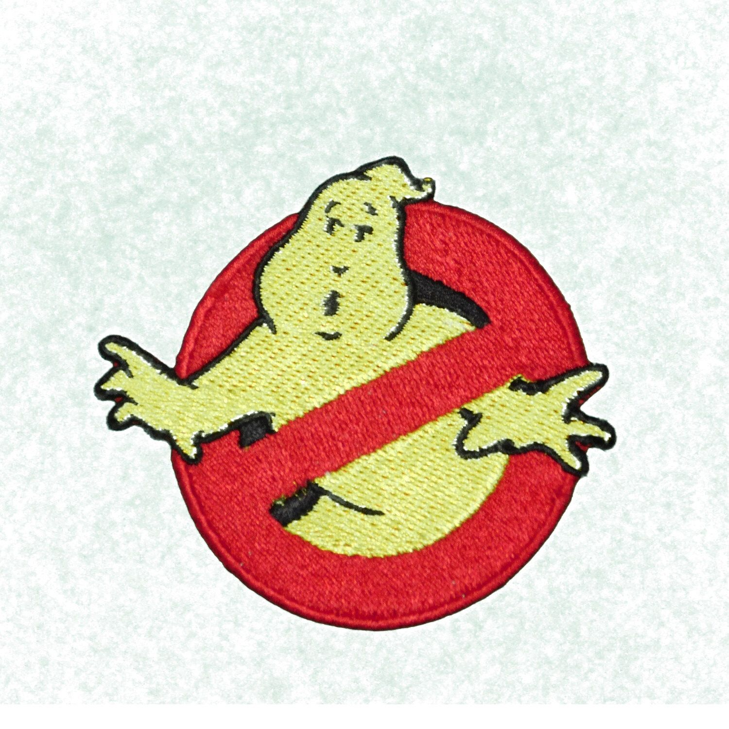 GHOSTBUSTERS Busters Movie Logo Iron on Patch Emblem Reflective Thread Ghost~~sci-fi by StarlitnightPatches on Etsy https://www.etsy.com/listing/249323120/ghostbusters-busters-movie-logo-iron-on