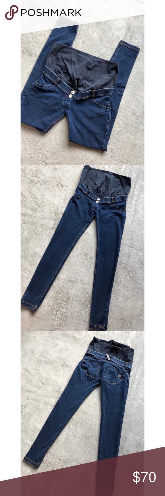 ec2fe4feb3cf5 Freddy Maternity WR.UP Denim Maternity Jeans Brand: Freddy Size: Small Pre-