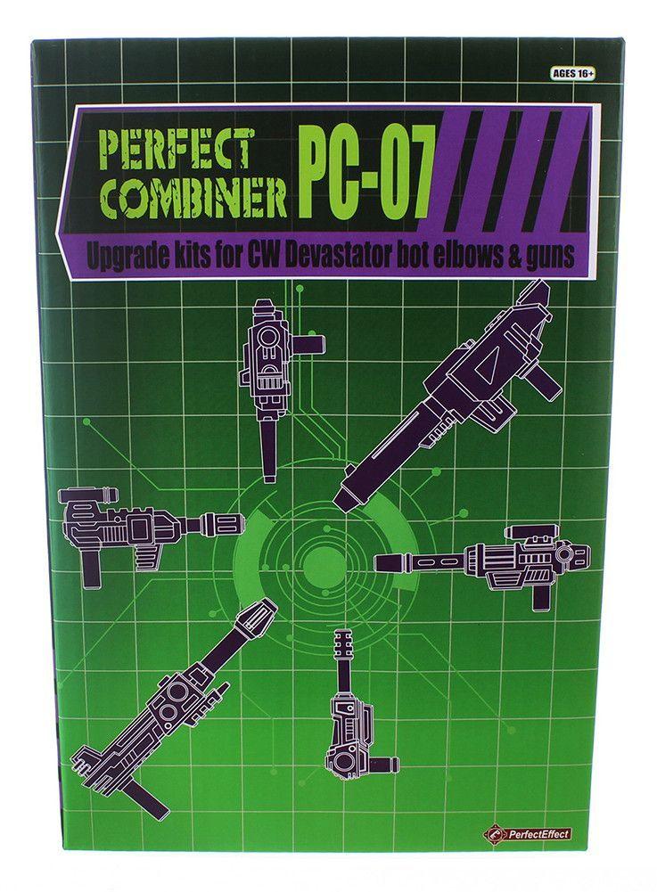 Transformers Perfect Combiner Upgrade Set PC-07 CW Devastator Bot Elbow & Guns