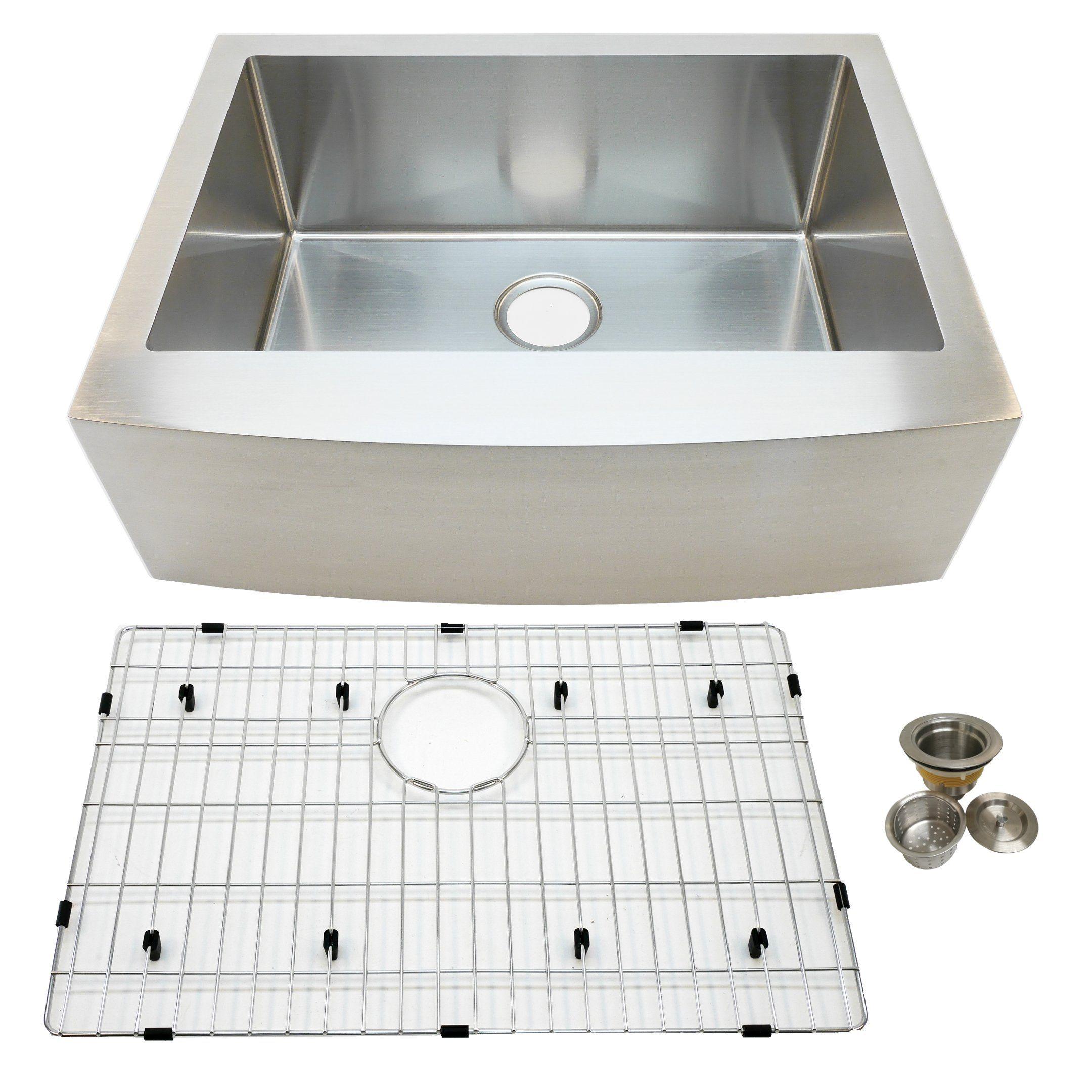 27 Single Bowl Sink Sink Stainless Steel Farmhouse Sink