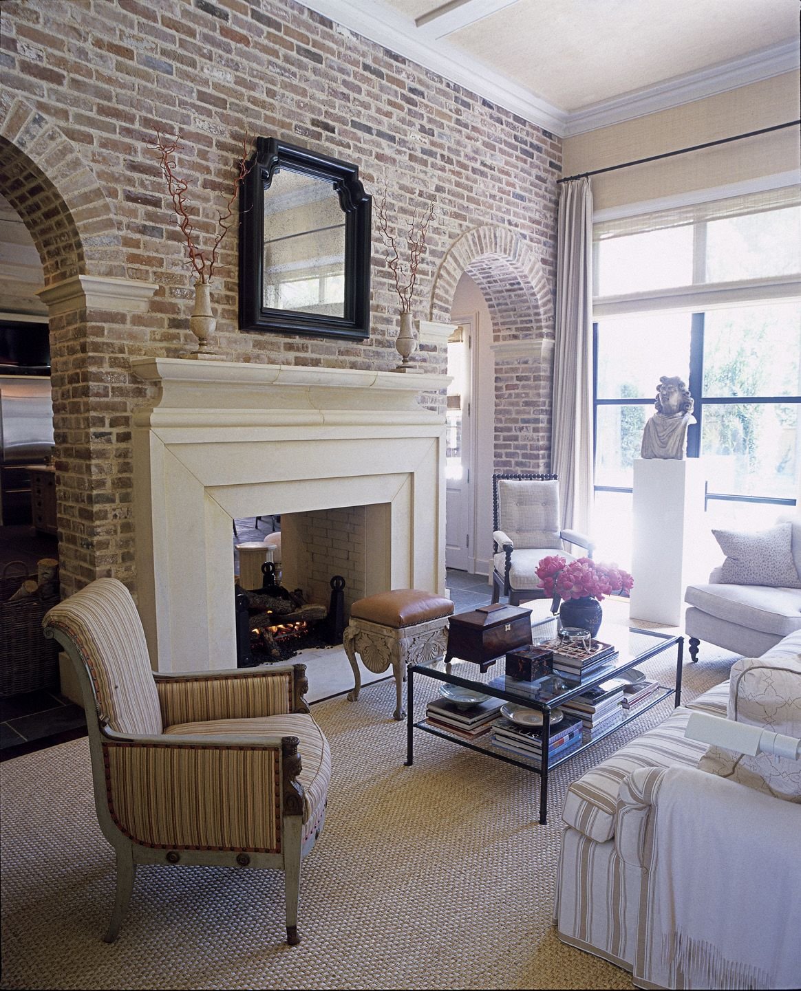 all the pros and cons of exposed brick new homes house on brick wall id=71388