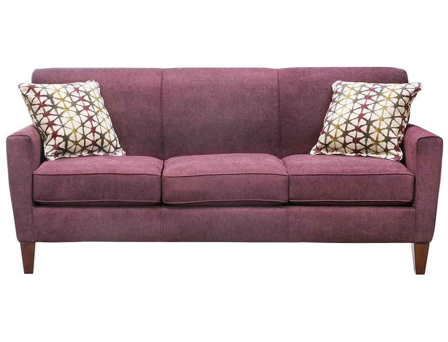 official photos 7edba 673a6 Slumberland | Bossa Nova Collection - Aubergine Sofa | Home ...