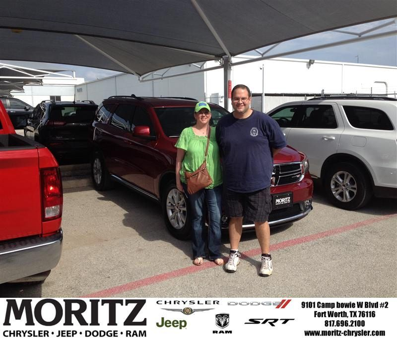 Congratulations to Kimberly  Ward on your #Dodge #Durango purchase from James Honeycutt at Moritz Chrysler Jeep Dodge RAM! #NewCar