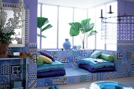 blue living room idea! Soo relaxing! Click Image to see more!!