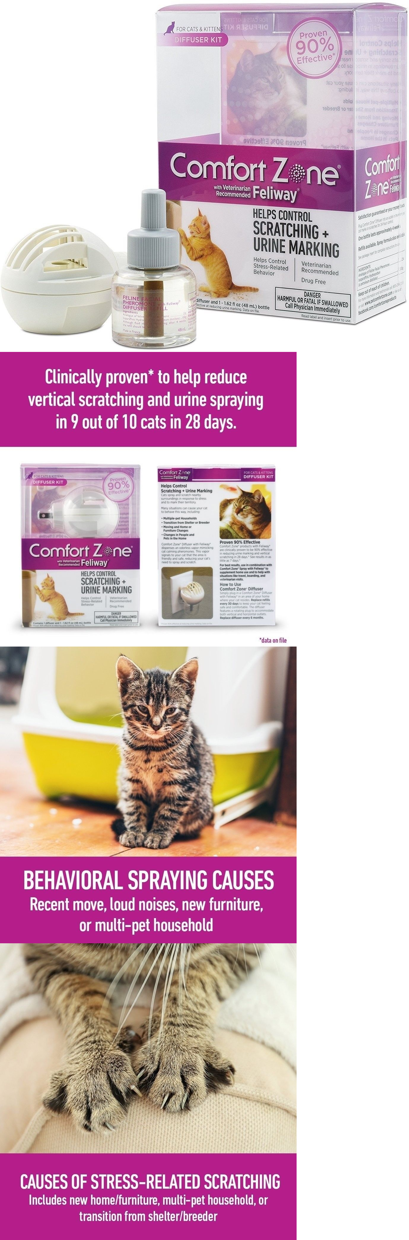 dp feliway multicat comforter com starter refill zone kit amazon health comfort animal diffuser ceva