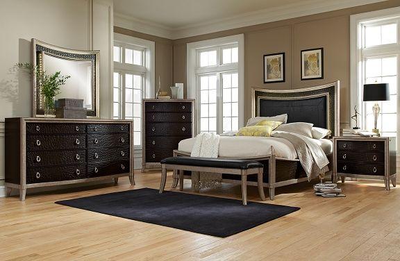 American Signature Furniture  Nicollette Bedroom Collectionqueen Glamorous Signature Design Bedroom Furniture Design Inspiration