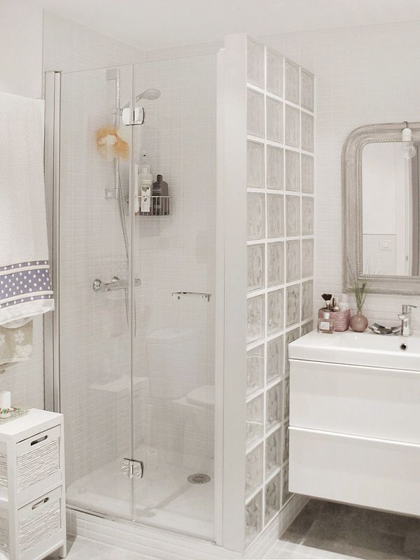 Pared ducha con cristal de paves baños Pinterest Bath, Ideas