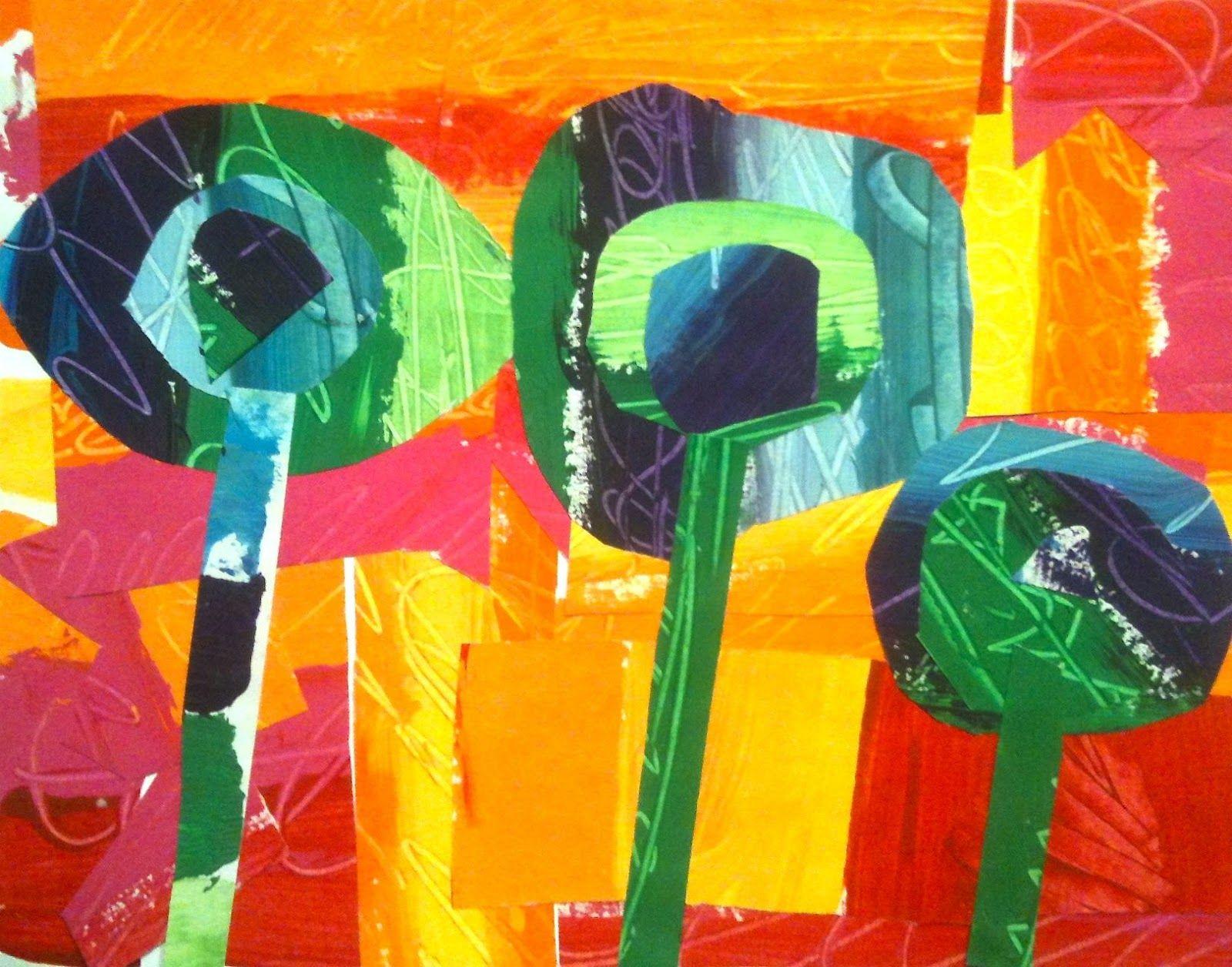 Kids Art Market: warm and cool color | Art classroom ideas ...