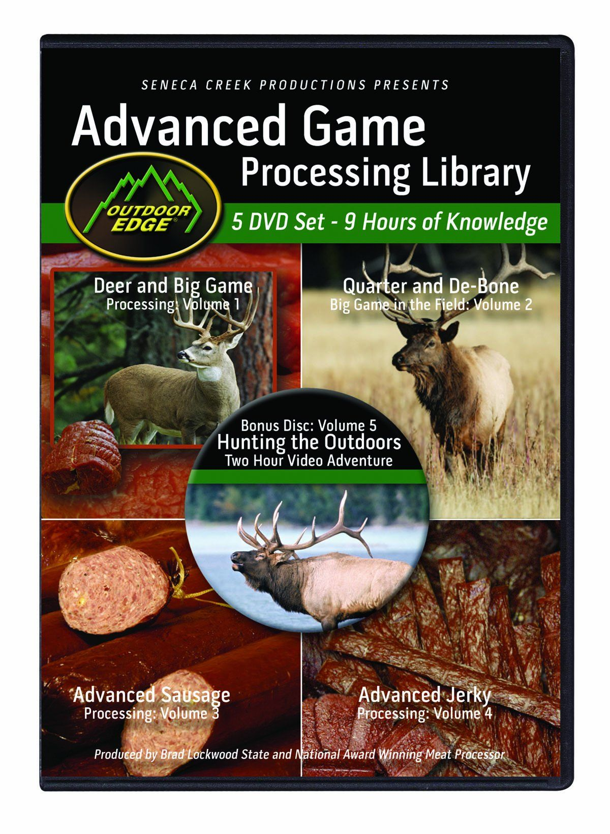 Outdoor Edge Ap101 Advanced Game Processing Dvd Library