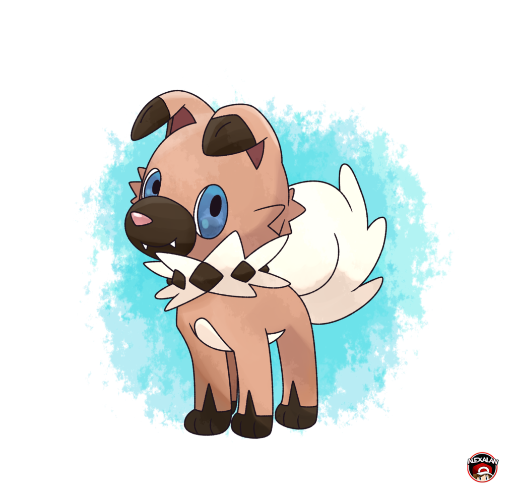 pokemon dog IWANKO NEW DOG POKEMON SUN MOON by Alexalan