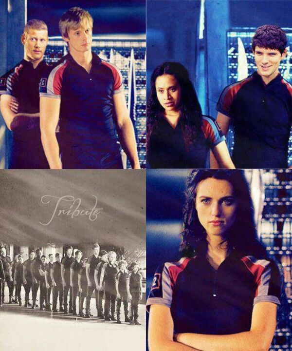 Merlin/The Hunger Games crossover  This is so weird  :P