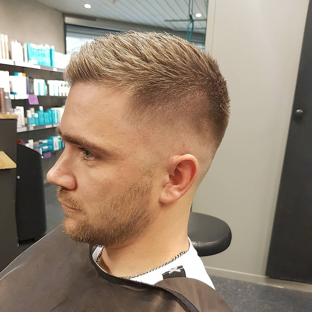 Blondehair Blonde Hair Menshair Skinfade Shorthair Haircut Barber Hairdresser Ref Fernando Mens Hairstyles Short Hair Haircuts Mens Hairstyles Short