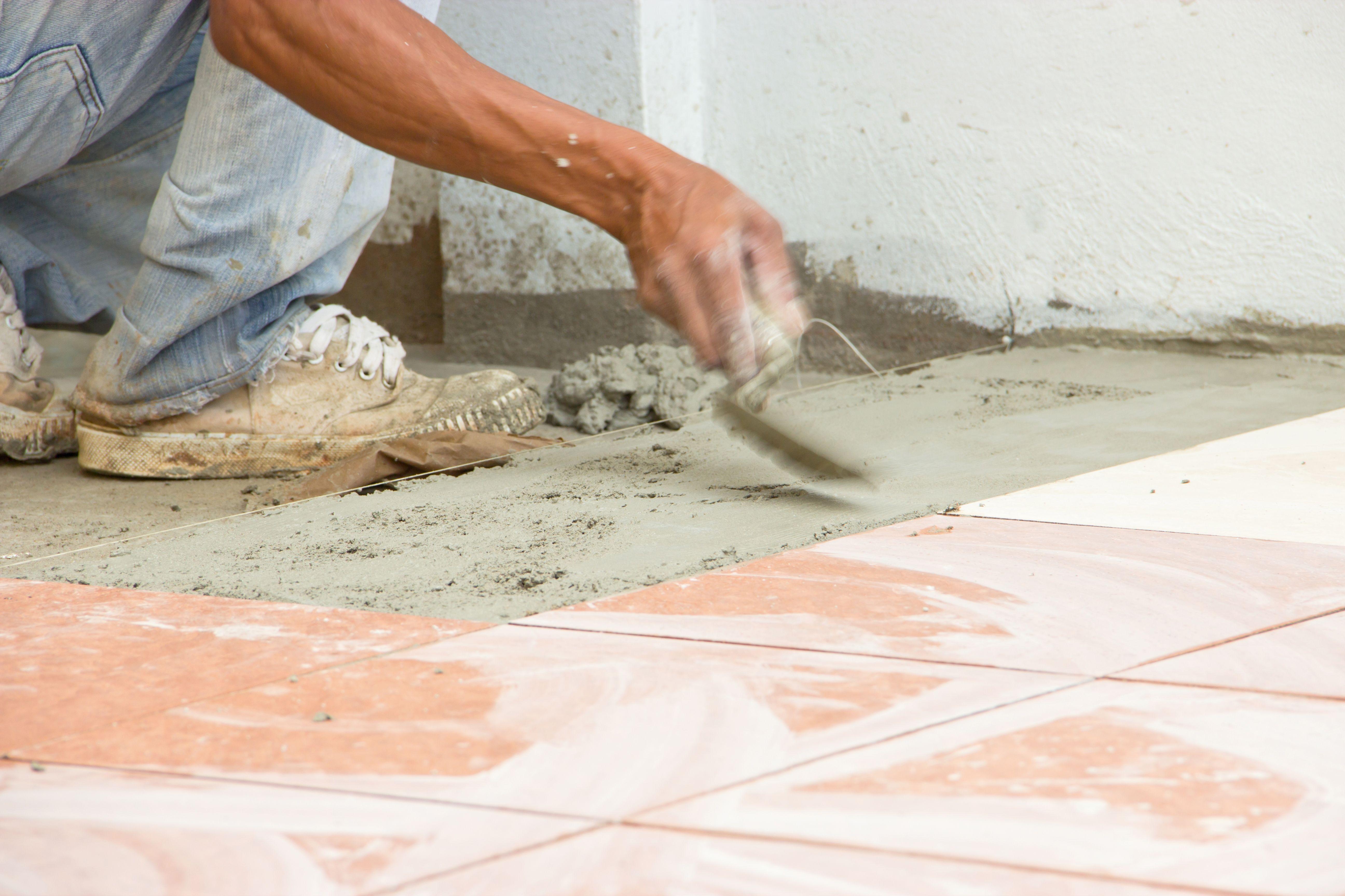 Putting Tile Down On Concrete Floor Httpnextsoft21