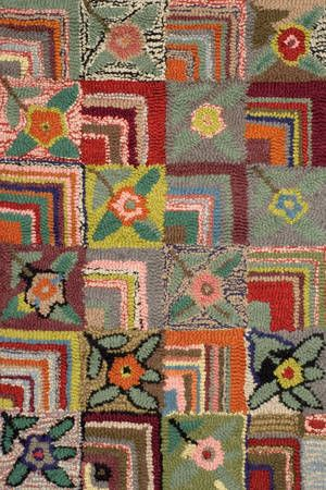 Vintage Style Hooked Rugs For Your 1930s Or 1940s Home
