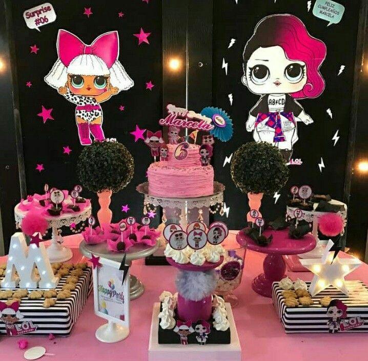 Lol Surprise Dolls Birthday Party. Lol Surprise Birthday ...