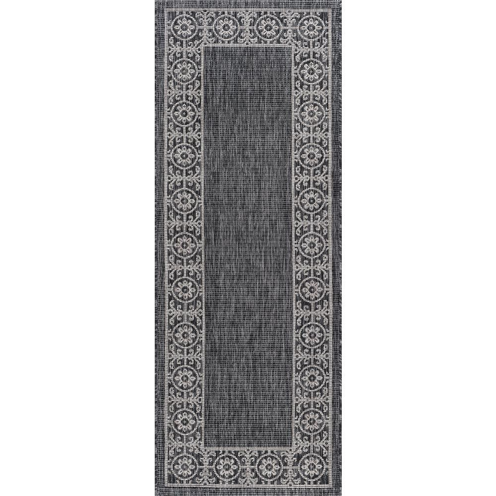 Tayse Rugs Veranda Teal 8 Ft X 10 Ft Indoor Outdoor Area Rug Vnd1815 8x10 The Home Depot 8x10 Area Depot Hom In 2020 Rug Runner Tayse Rugs Outdoor Runner Rug