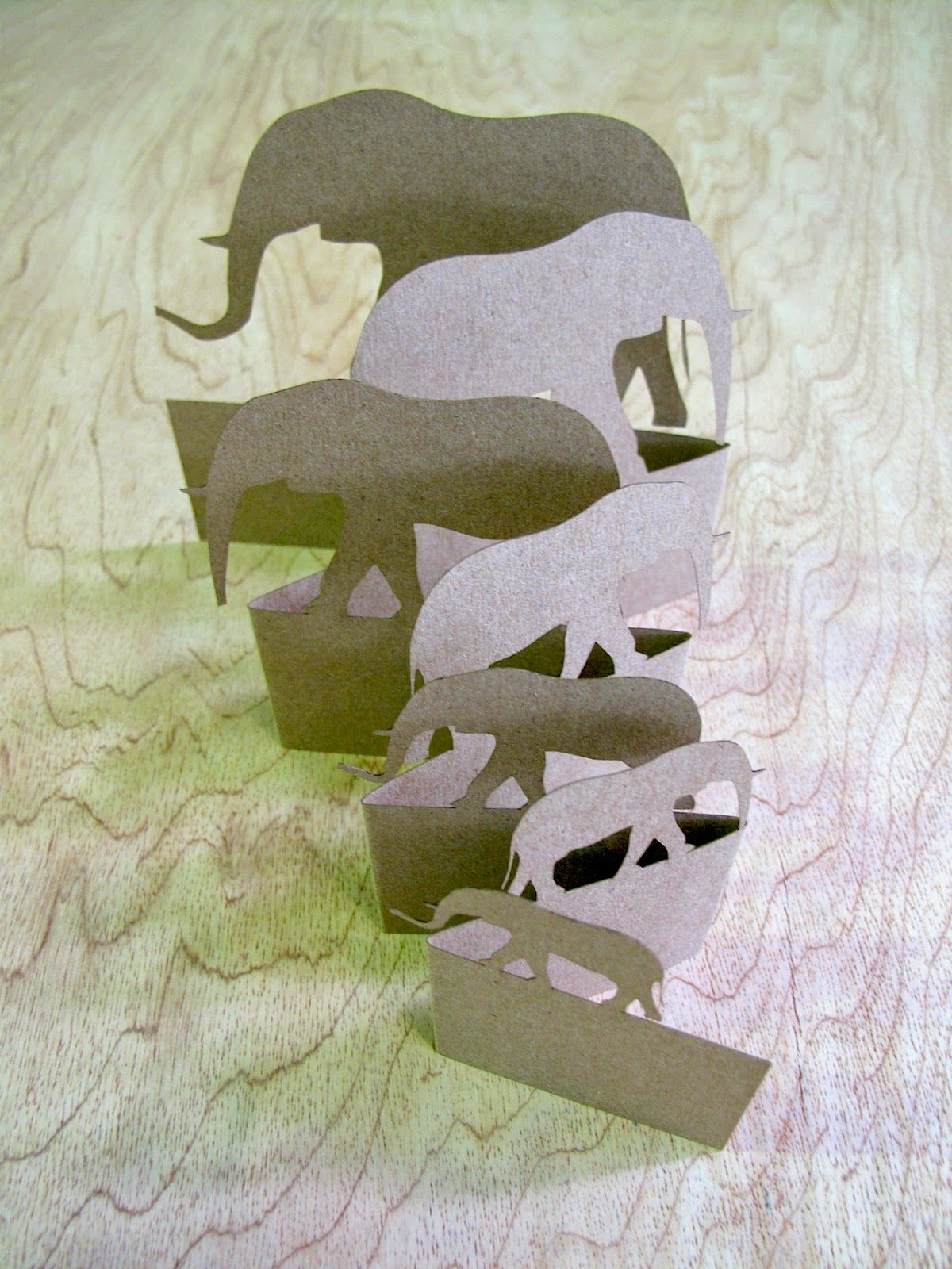 Simple Intrigue Elephants Card Making Elephant Paper Crafts