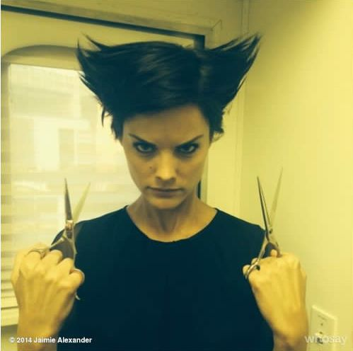 Jamie Alexander (Lady Sif) as Wolverine =D