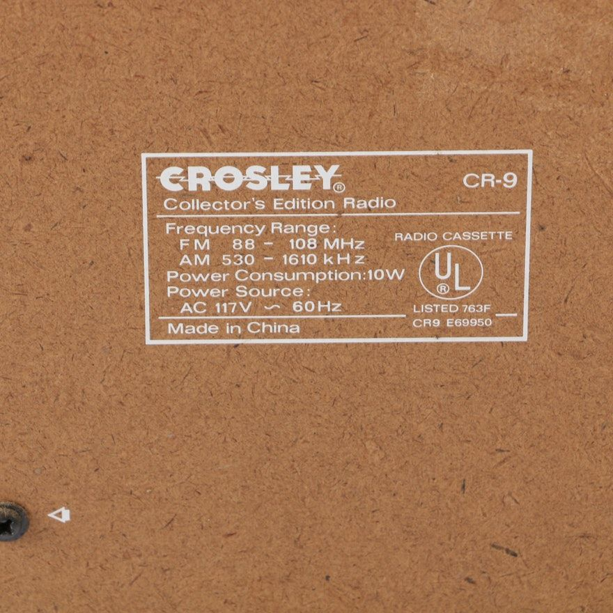 Crosley CR-9 100 Select-o-Matic Jukebox Style Collector's Edition
