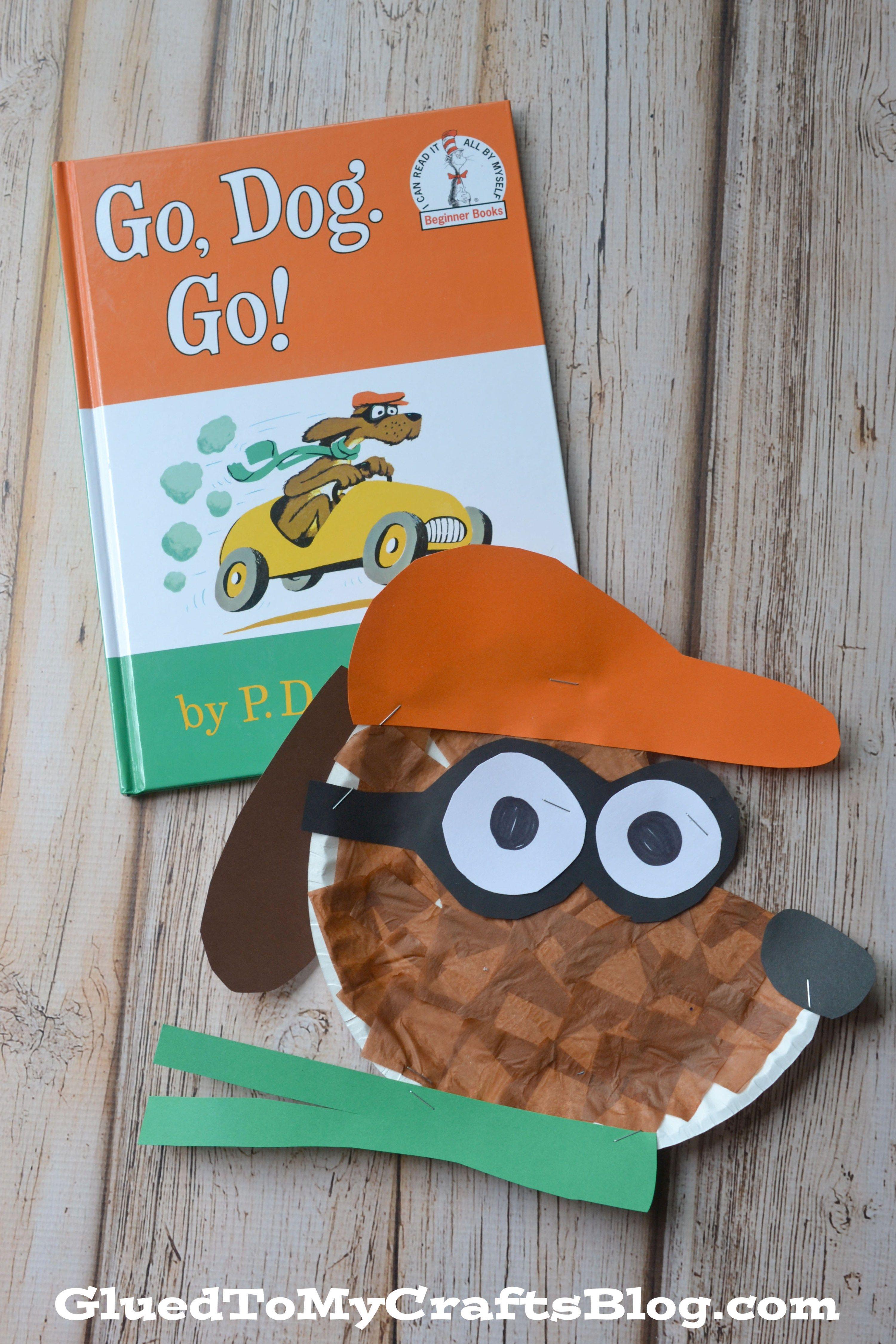 Go Dog Go Paper Plate Kid Craft