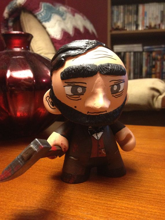 Abraham Lincoln Vampire Hunter Munny One of a Kind by suedibny82
