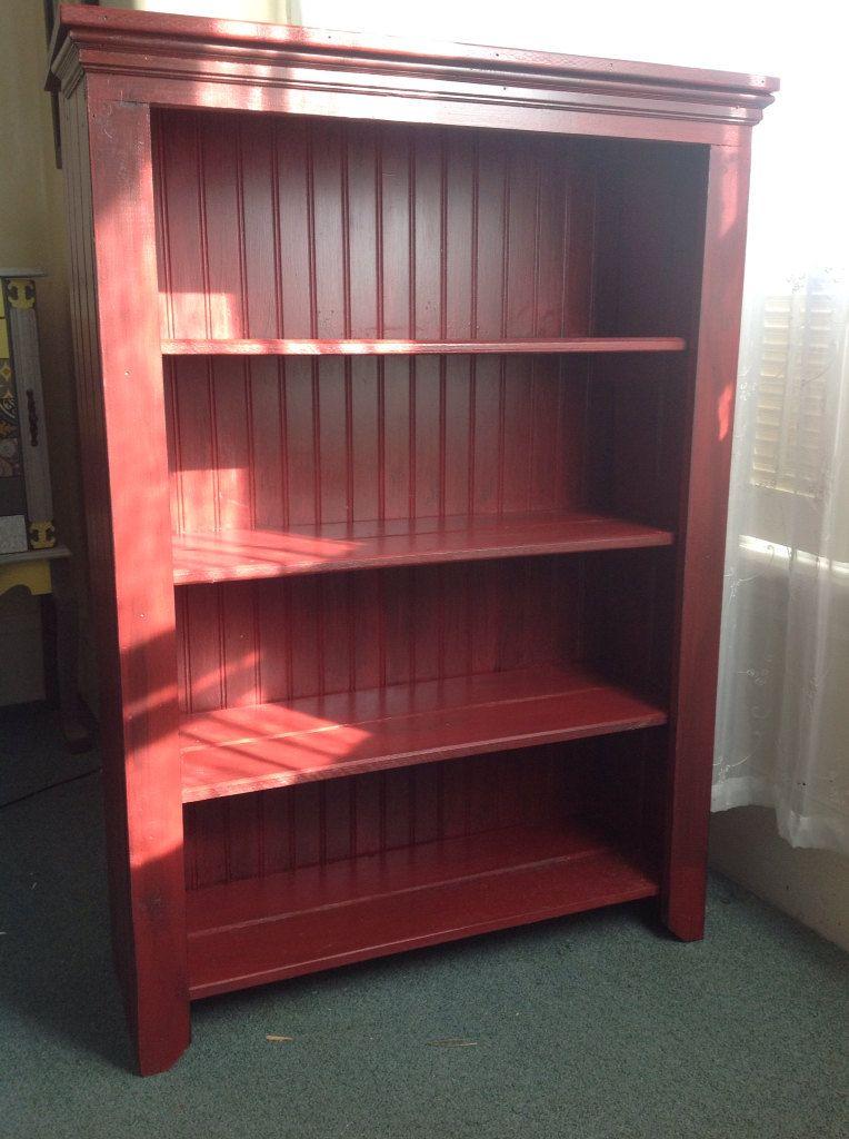 primitive distressed bookshelf bookcase by sameasnever on etsy 28900 - Distressed Bookshelves