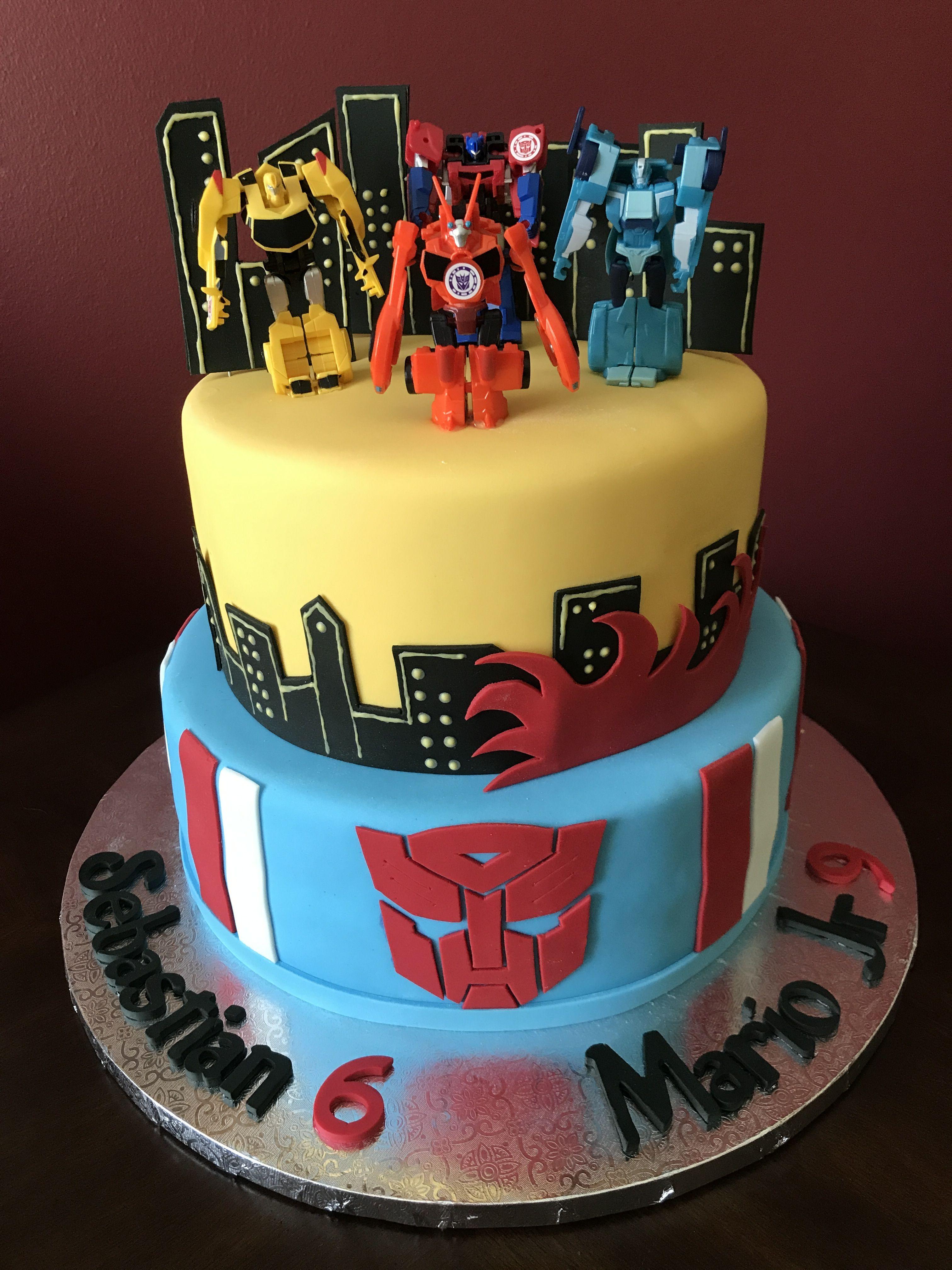Stupendous Transformers Birthday Cake Transformers Birthday Cake Funny Birthday Cards Online Ioscodamsfinfo