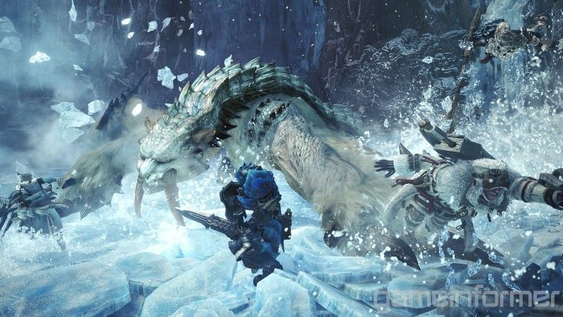 Everything You Need To Know About Iceborne S Saber Toothed Barioth Monster Hunter Monster Hunter World Sabertooth